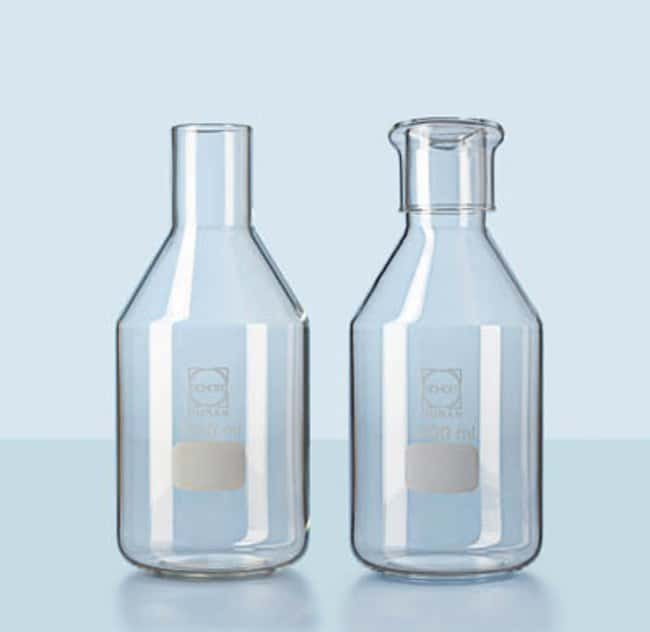 Duran™Culture Media Bottle with Straight Rim for Glass Caps Capacity: 500mL Duran™Culture Media Bottle with Straight Rim for Glass Caps