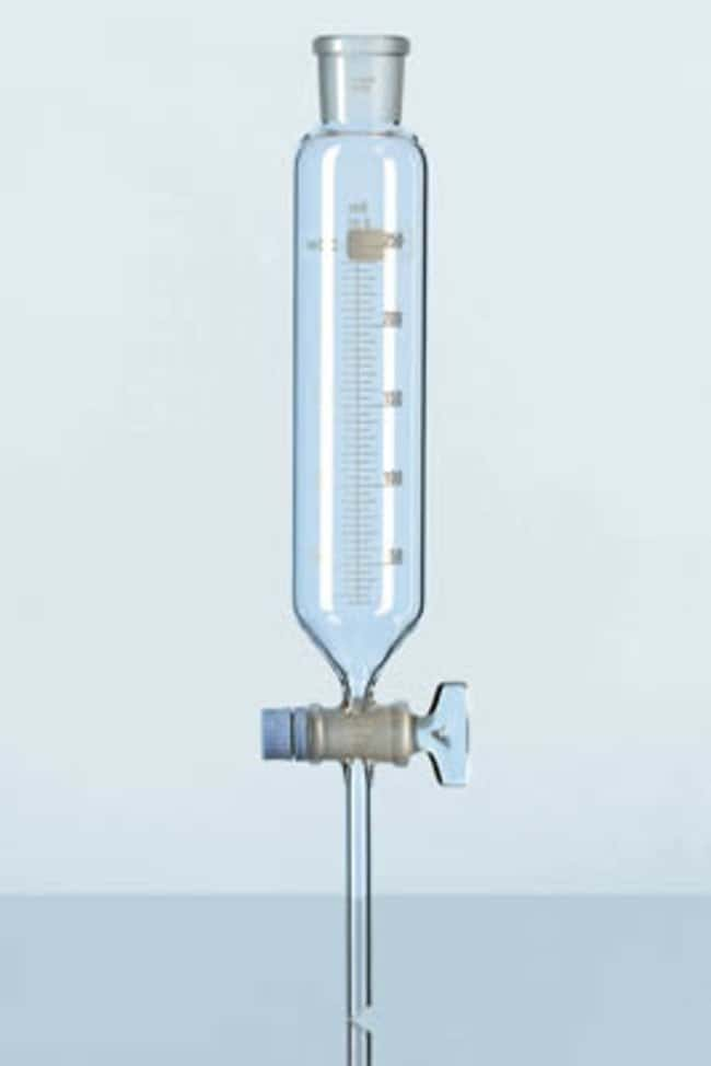 Duran™ Embudos cuentagotas Capacity: 1000mL; Height: 381mm; Cone Size: 29/32 NS; Scale: 5mL Duran™ Embudos cuentagotas