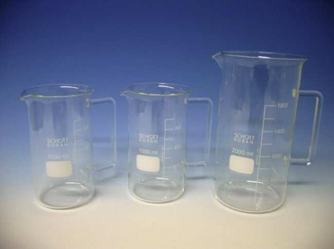 Witeg™Messbecher aus Borosilikatglas mit hoher Form Capacity: 1000mL; Diameter: 90mm Witeg™Messbecher aus Borosilikatglas mit hoher Form
