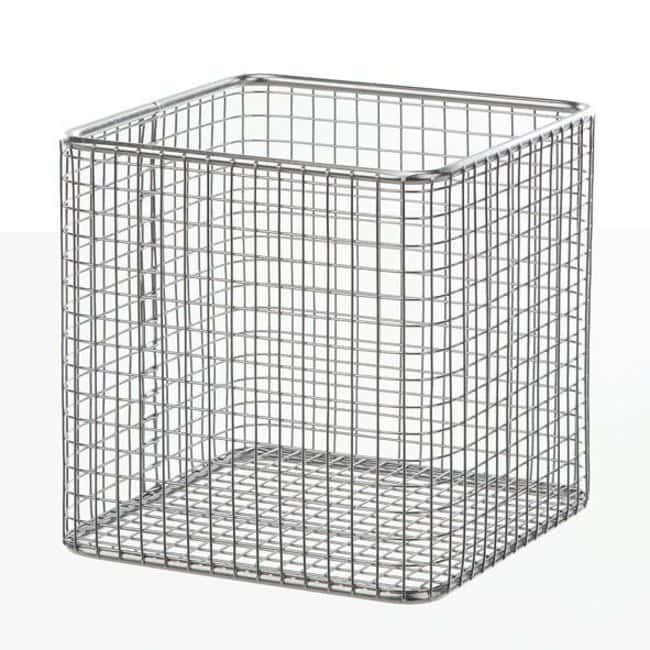 Bochem™ Stainless Steel Wire Basket, Square Dimensions (L x W x H): 150 x 150 x 150mm Bochem™ Stainless Steel Wire Basket, Square