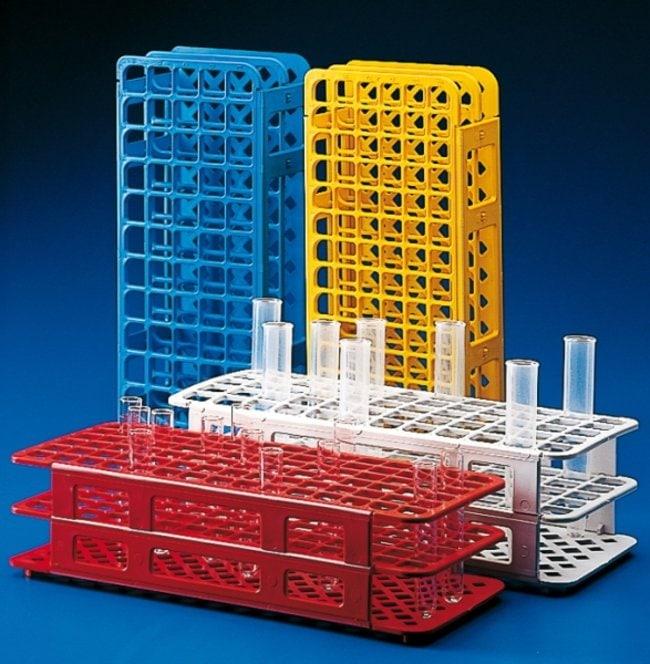 Kartell™Portoirs universels pour tubes à essai en PP Plastilab™: Racks Portoirs, boîtes, étiquetage et ruban adhésif