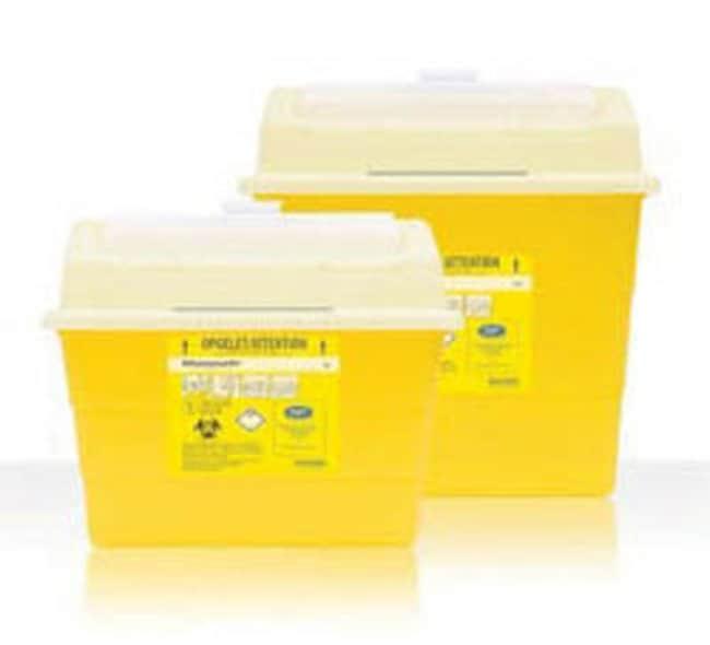 Hospidex™Conteneur pour déchets à risque biologique en polypropylène Sharpsafe™: Bacs à déchets pour substances présentant un risque biologique Bacs jetables pour déchets et déchets à risque biologique | Fisher Scientific