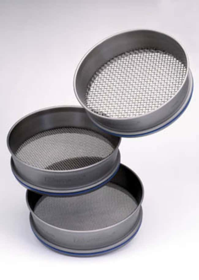 Fisherbrand™ Stainless-Steel Test Sieves, 200 Dia. x 50mm H, Pore sizes in Micrometers, ISO 3310/1: Spatulas, Forceps and Utensils Products