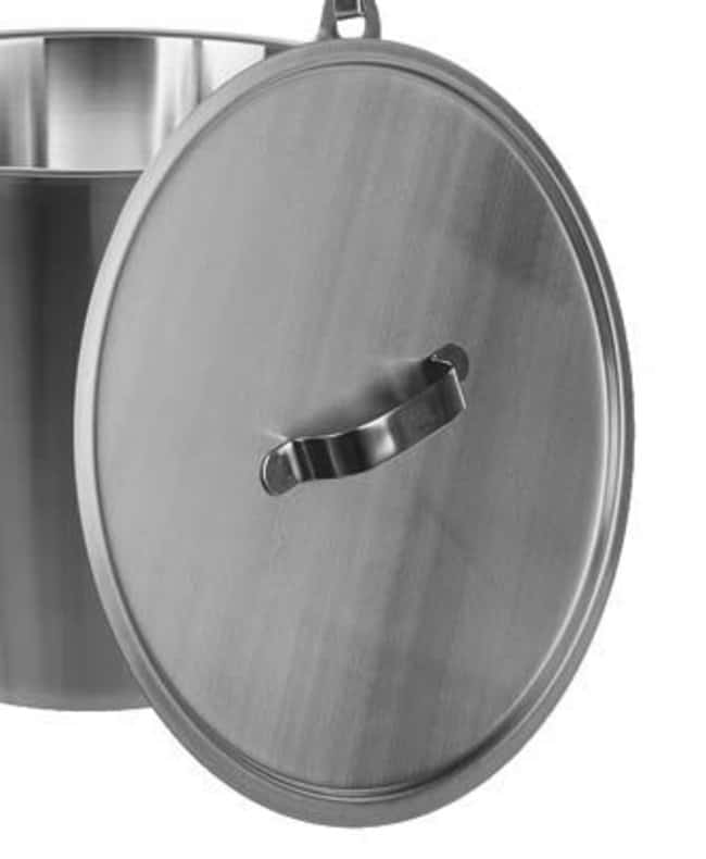 Bochem™Stainless Steel Lid For use with: For 15L graduated bucket Bochem™Stainless Steel Lid