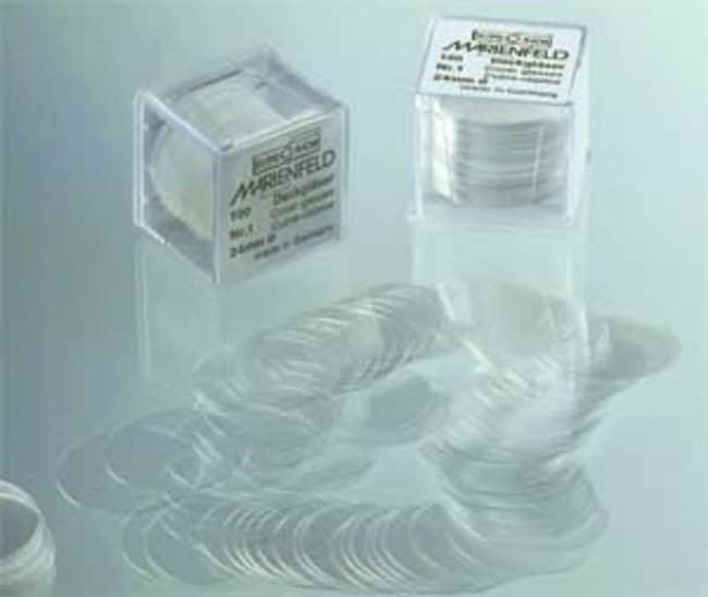 Marienfeld Superior™Deckgläser aus Borosilikatglas Diameter: 24mm Marienfeld Superior™Deckgläser aus Borosilikatglas