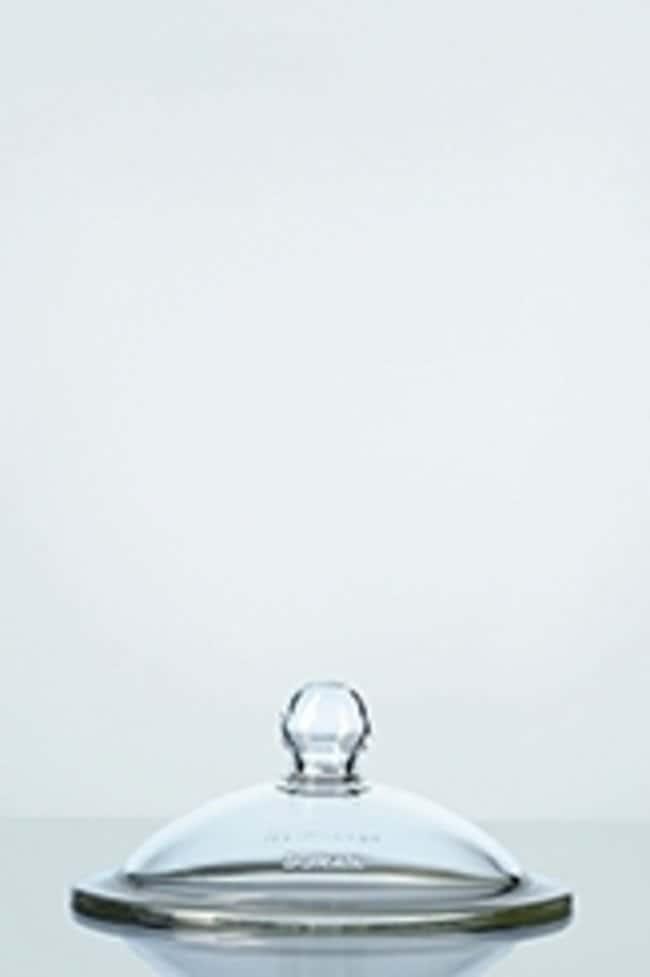Duran™Coperchi per essiccatore in vetro borosilicato con impugnatura Size: DN 200 (nominal diameter); I.D.: 224mm flange; O.D.: 270mm flange prodotti trovati