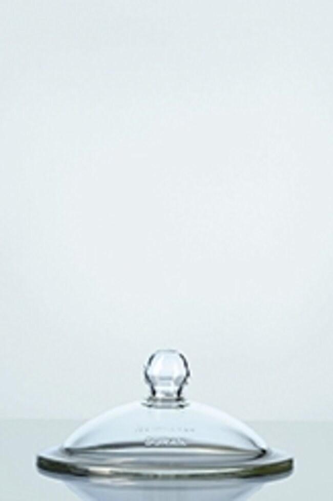 Duran™Borosilicate Desiccator Lid with Knob Size: DN 200 (nominal diameter); I.D.: 224mm flange; O.D.: 270mm flange Products