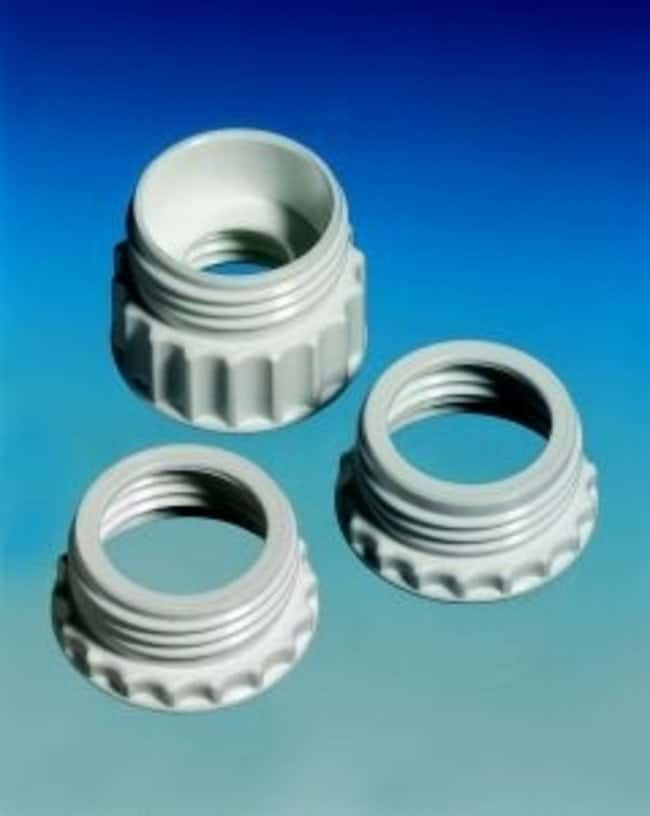 Hirschmann™ Polypropylene Thread Adapter Thread size: A 45 to S 40 Hirschmann™ Polypropylene Thread Adapter