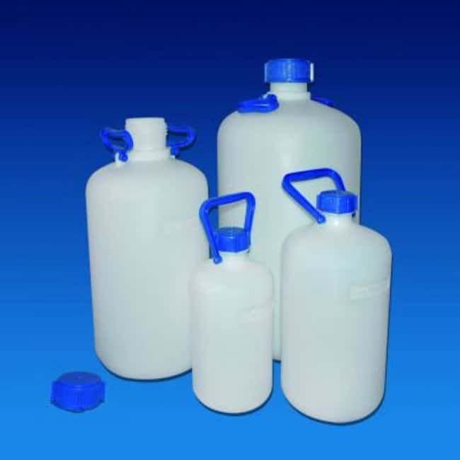 Kartell™ HDPE, Narrow Neck Heavy Walled Carboy Capacity, Metric: 25L Cylindrical Carboys