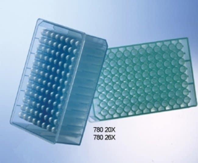 Greiner Bio-One™Masterblock™ 96-Well MicroPlates Bottom: Round, Volume: 1mL; 1/Pk Greiner Bio-One™Masterblock™ 96-Well MicroPlates