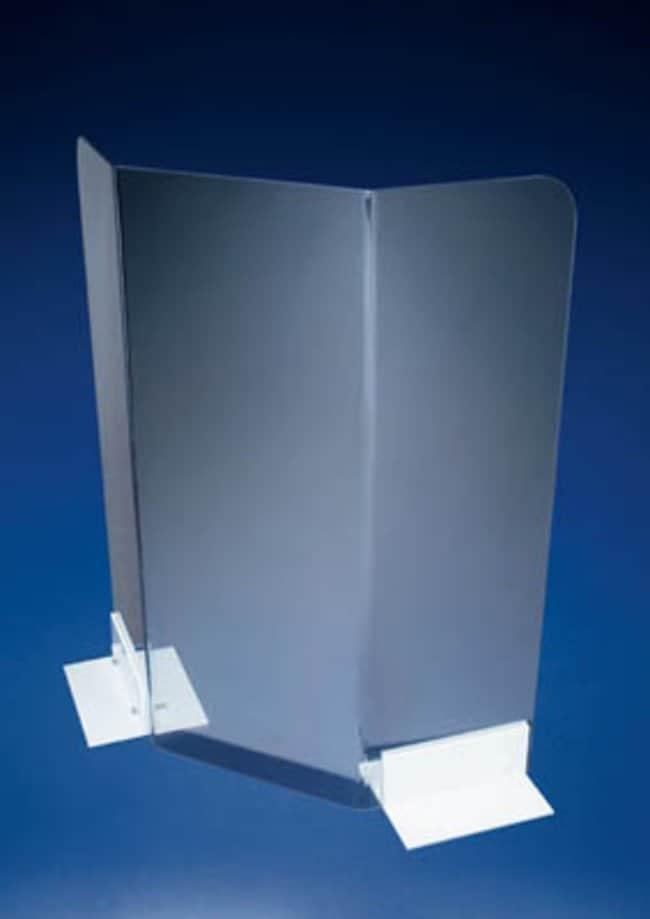 Azlon™ Single Piece Safety Shield Height: 608mm Pantallas antirradiación