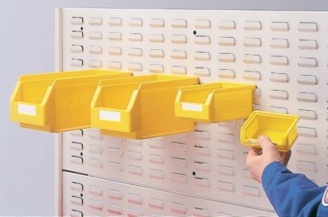 Kappes Systeme™HDPE Storage Bin Color: Grey; Dimensions (L x W x H): 290 x 140 x 130mm Kappes Systeme™HDPE Storage Bin