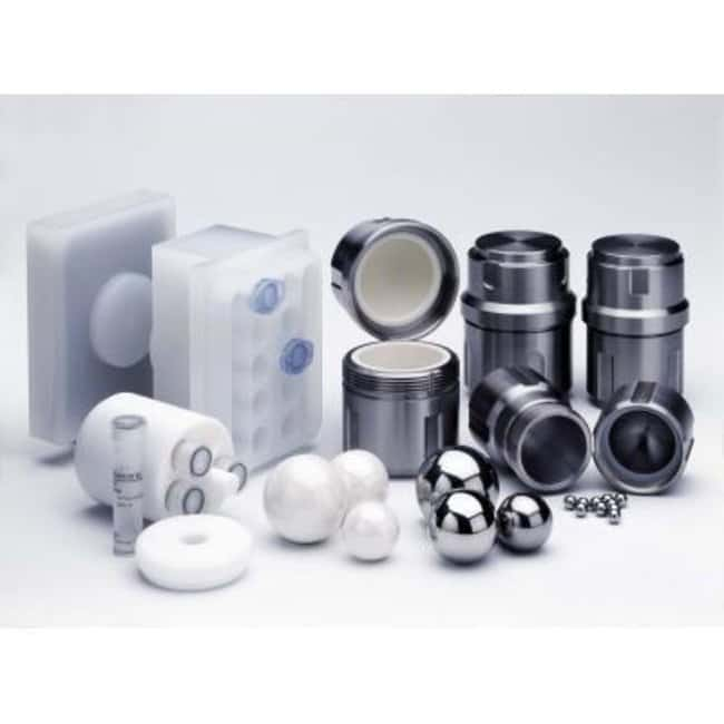 RETSCH Stainless Steel Grinding Jars Capacity: 10mL; For Use With MM 200:Spectrophotometers,
