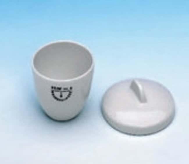 Haldenwanger™Medium High Form Melting Porcelain Crucibles Capacity: 15mL; Height: 28mm Haldenwanger™Medium High Form Melting Porcelain Crucibles