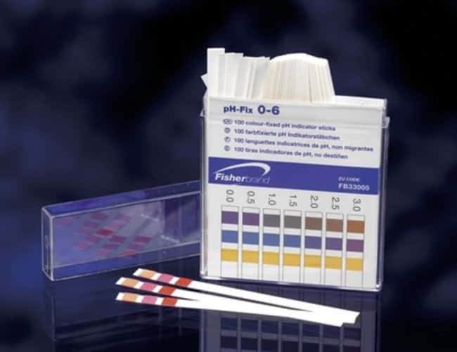 Fisherbrand™ pH Indicator Paper Sticks  Fisherbrand™ pH Indicator Paper Sticks