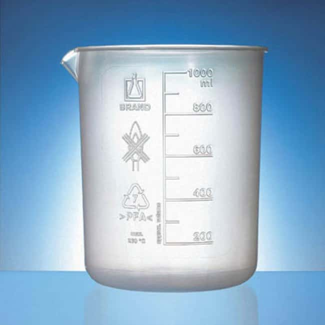 Brand™ Graduated Low-Form Beakers: Beakers | 50mL, 250mL, 500mL | Fisher Scientific Beakers, Bottles, Cylinders and Glassware