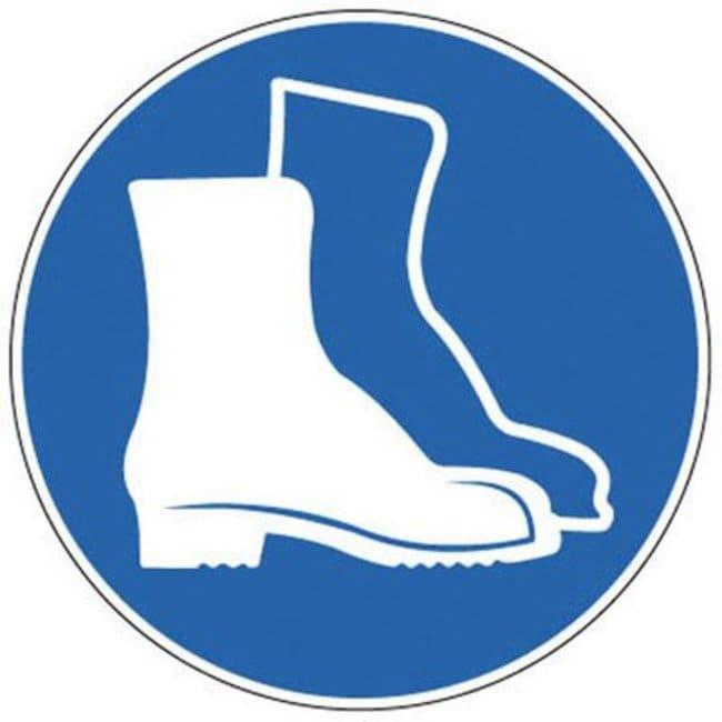 Brady™Panneaux obligatoires en PP renforcé use Foot; Diameter: 200mm Brady™Panneaux obligatoires en PP renforcé