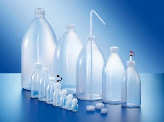 Kautex™ LDPE Narrow Neck Round Bottle with Stopper, Ecru Capacity: 3000mL Kautex™ LDPE Narrow Neck Round Bottle with Stopper, Ecru