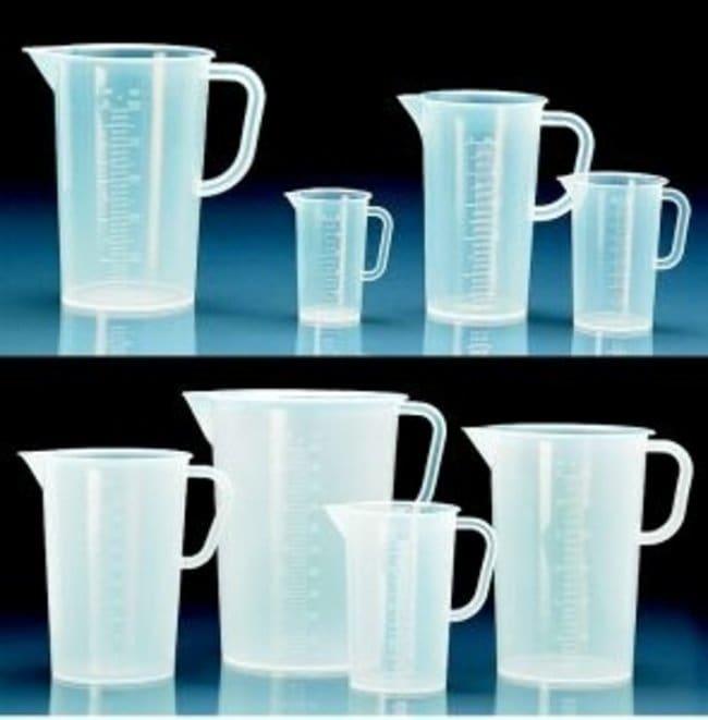 Vitlab™Messbecher aus Polypropylen, transparent: Becher 50ml, 250ml, 500ml Becher, Flaschen, Zylinder und Glasartikel