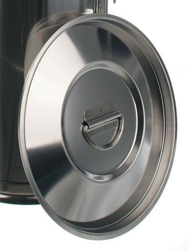 Bochem™Deckel für Transportbehälter, 50 Liter, 18/8 Stahl  Töpfe