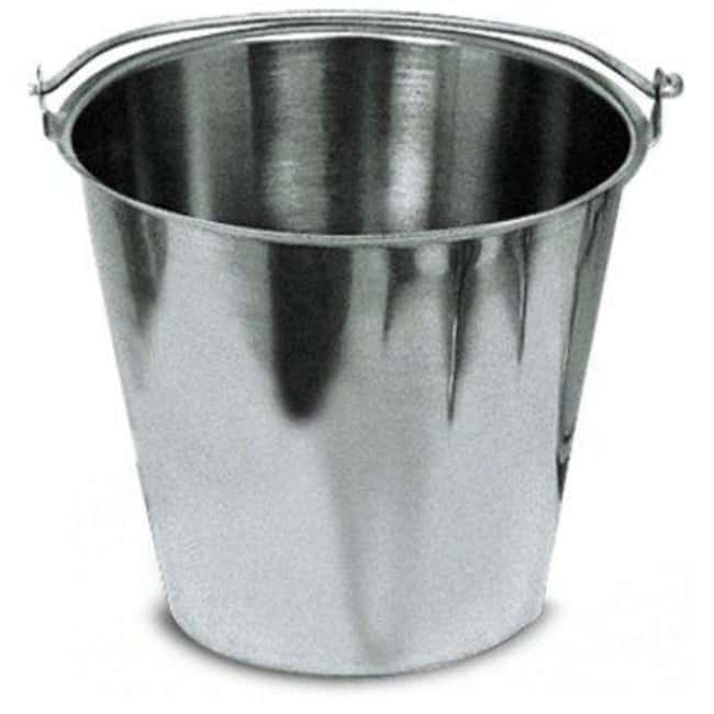 Cole-Parmer™ Stainless Steel Pail: Cleaning Supplies Gloves, Glasses and Safety