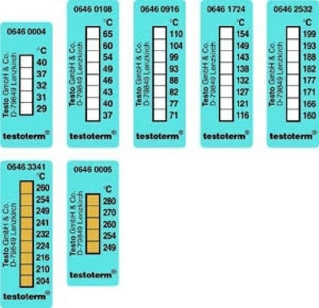 Testo™Testoterm™ Temperature Strips: Home