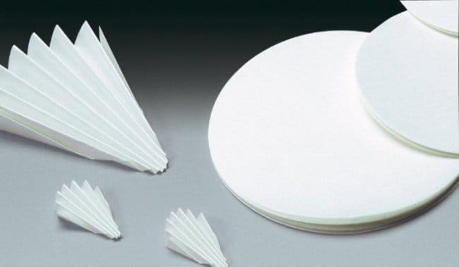 Sartorius™Smooth Folded Filters, Grade 3-HW Disc Diameter: 385mm; Folded filter Sartorius™Smooth Folded Filters, Grade 3-HW