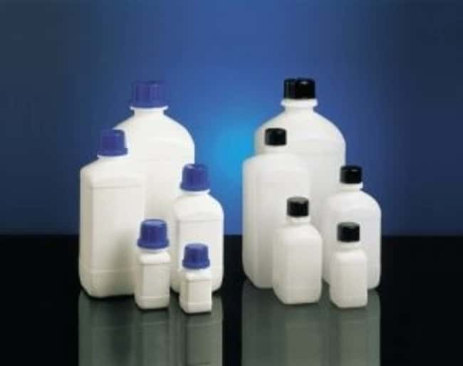 Kautex™ HDPE White Square Narrow Neck Bottle Capacity: 0.25L Kautex™ HDPE White Square Narrow Neck Bottle