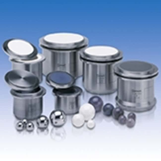 RETSCH Stainless Steel Comfort Grinding Jars Capacity: 12mL RETSCH Stainless Steel Comfort Grinding Jars