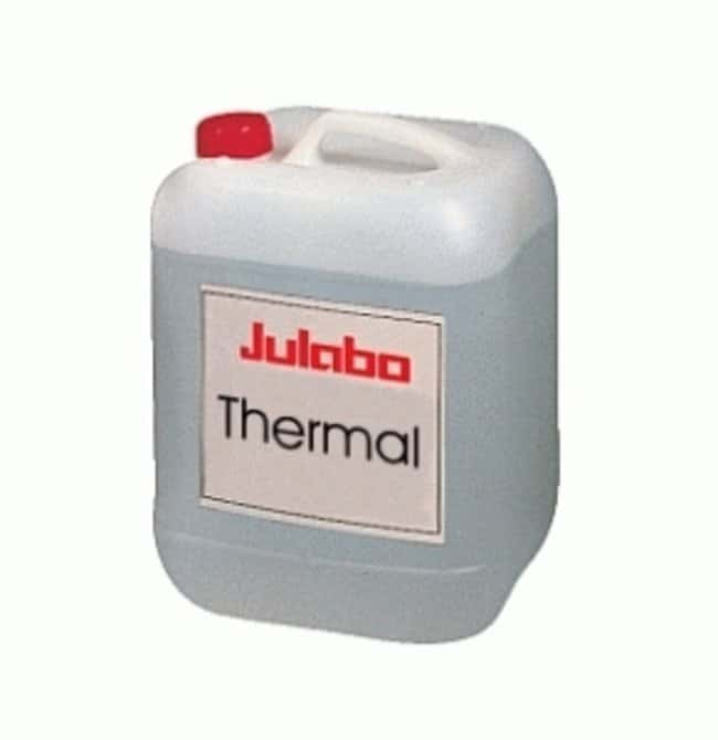Julabo™ Thermal Bath Fluids Color: Light brown; Temp Range: 0 to 220 deg.C; Fire Point: 274 deg.C; Qty.: 5L Julabo™ Thermal Bath Fluids
