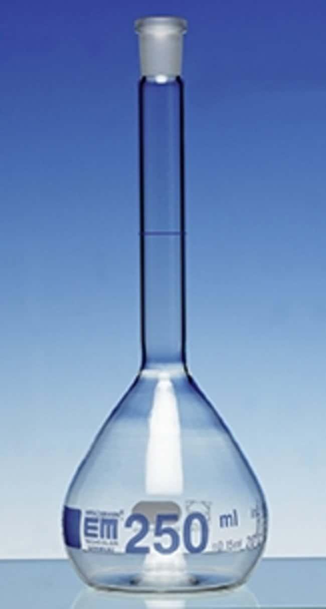 Hirschmann™Class A Volumetric Flasks with NS Ground Capacity: 250mL; Socket Joint: 14/23 NS Standard Ground Hirschmann™Class A Volumetric Flasks with NS Ground