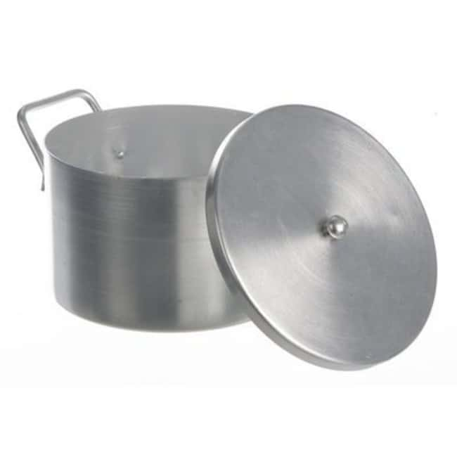 Bochem™Aluminum Laboratory Pot With Lid Capacity: 3L; Outside Dia.: 200mm; Height: 120mm Bochem™Aluminum Laboratory Pot With Lid