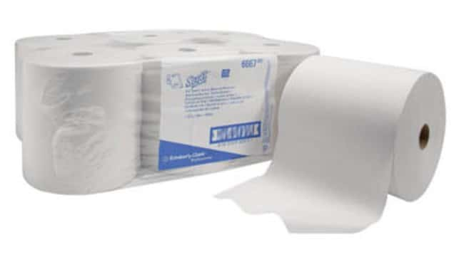 Kimberly-Clark™ SCOTT™ Rolled Hand Towels Color: White Kimberly-Clark™ SCOTT™ Rolled Hand Towels