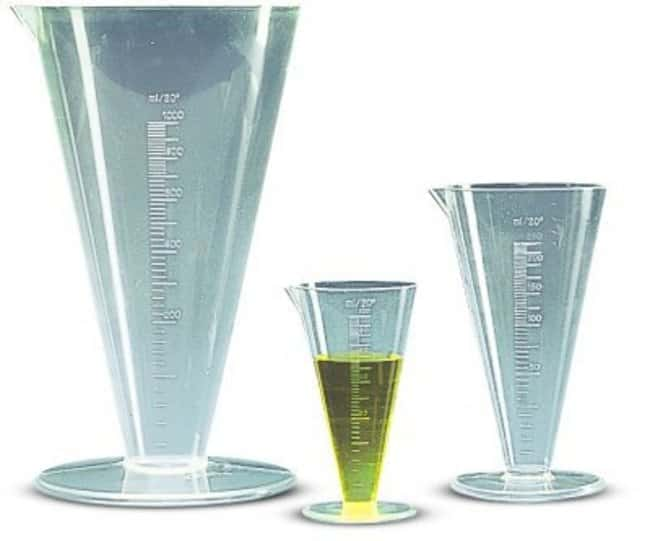 Kartell™ (TPX™) PMP Graduated Conical Measures Capacity, Metric: 250mL Kartell™ (TPX™) PMP Graduated Conical Measures