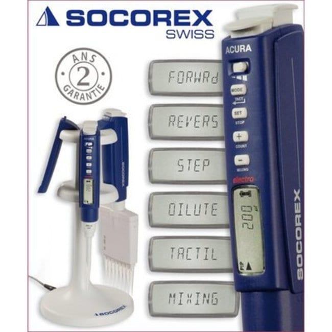 Socorex™Acura™ Electro 926 Micropipette: Pipettes Pipettors, Pipettes, and Pipettor Tips