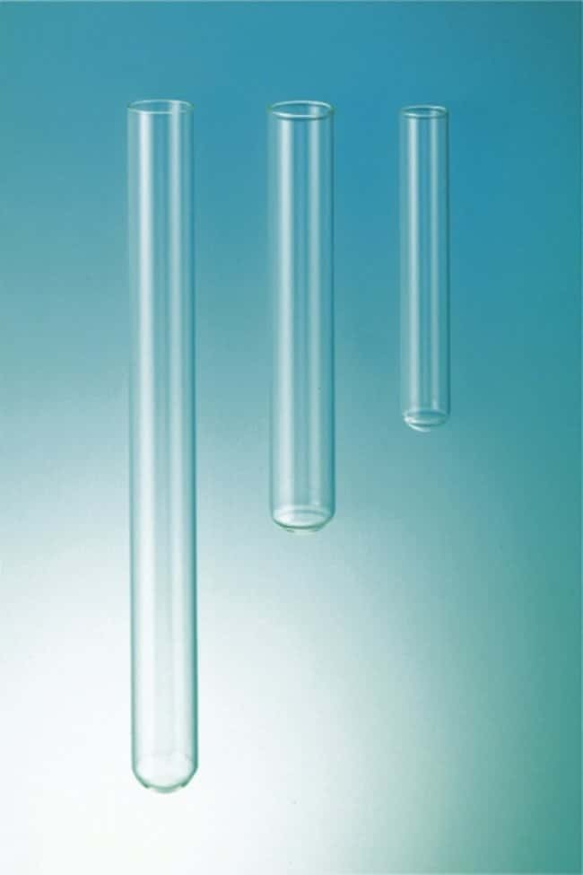 Fisherbrand™ 5.1 Borosilicate Glass Disposable Test Tubes Diameter: 10mm; Length: 100mm Fisherbrand™ 5.1 Borosilicate Glass Disposable Test Tubes