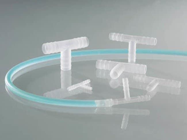 Buerkle™Connettori a T cilindrici in PVDF For Diameter: 3 to 5mm Buerkle™Connettori a T cilindrici in PVDF
