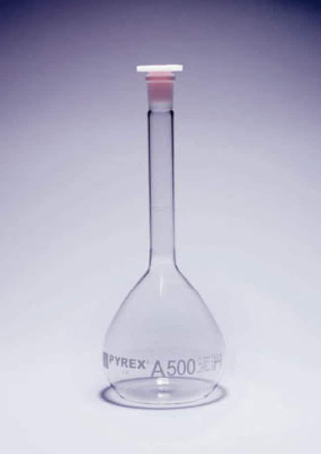 Pyrex™ Borosilicate Glass Class A Certified Volumetric Flask Capacity: 2000mL Pyrex™ Borosilicate Glass Class A Certified Volumetric Flask