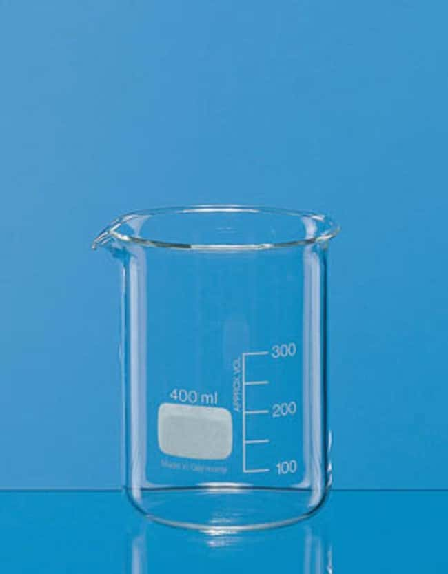 BRAND™Low Form Borosilicate Glass Beakers: Beakers | 50mL, 250mL, 500mL | Fisher Scientific Beakers, Bottles, Cylinders and Glassware