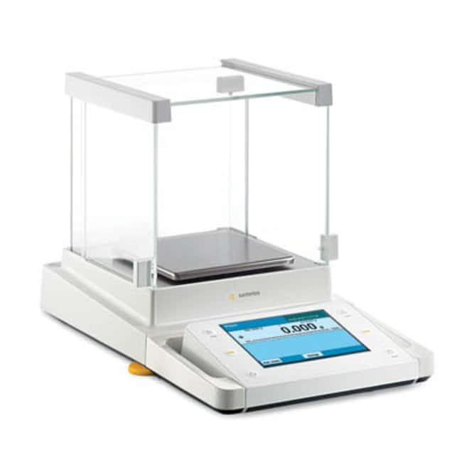 Sartorius™ Cubis™ Series MSA124S Model Analytical Balances Leveling: Assisted Products
