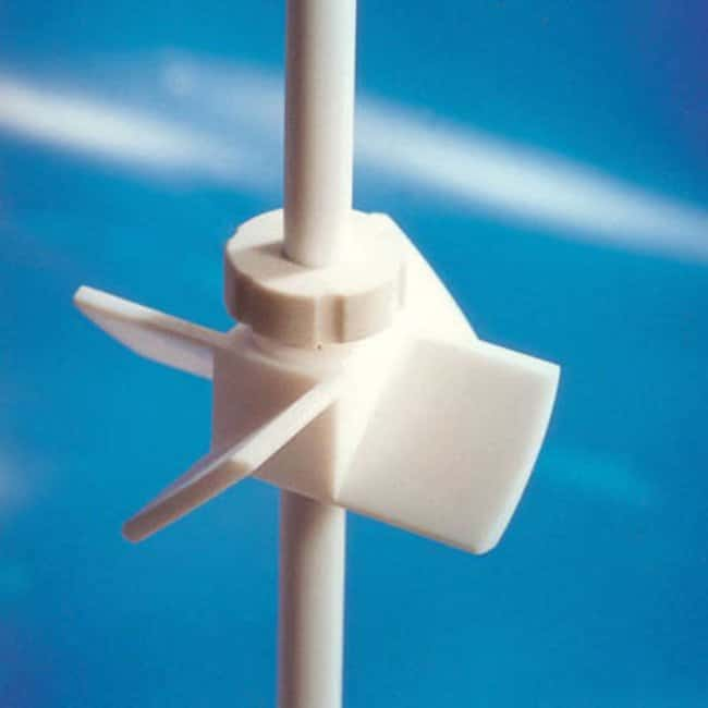 Cowie Technology™ PTFE Angled Type Adjustable Rotor Shaft Stirrer Shaft Diameter: 6 mm, Fan Diameter: 40 mm Products