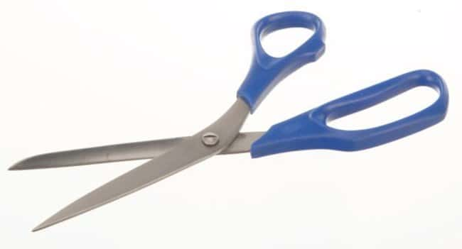 Bochem™Stainless Steel Laboratory Scissors with Plastic Handle Length/Tip Style: 150mm/Sharp/Round Bochem™Stainless Steel Laboratory Scissors with Plastic Handle