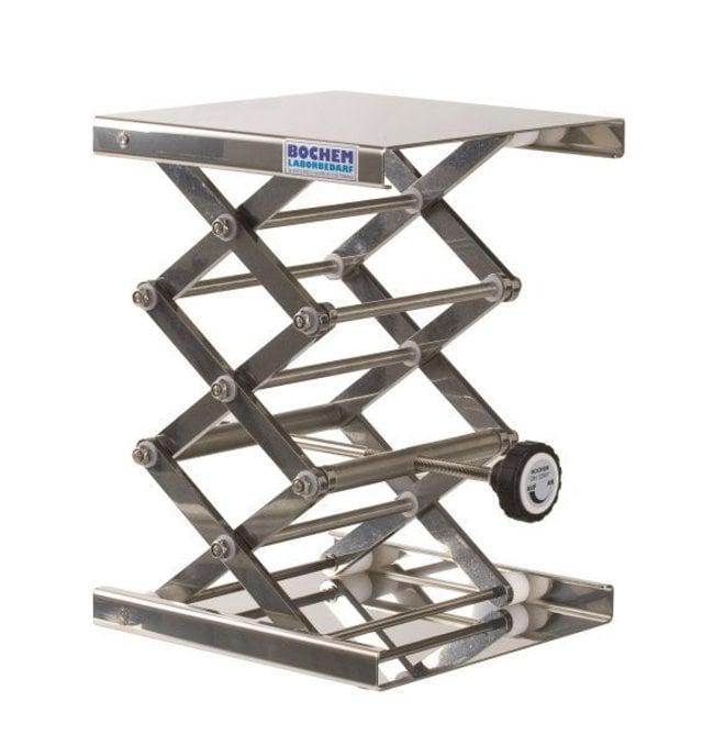 Bochem™18/10 Stainless Steel Lab Jacks Dimensions (L x W): 200 x 200mm Products