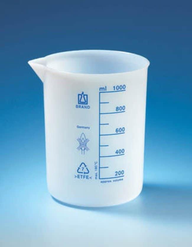 Brand™ETFE Graduated Beakers Capacidad: 25ml Brand™ETFE Graduated Beakers