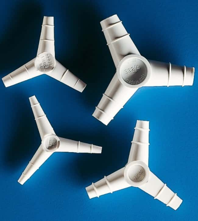 Kartell™ 120° 'Y' Shaped Tapered Connectors TubingSize: 4.7mm Bore Kartell™ 120° 'Y' Shaped Tapered Connectors