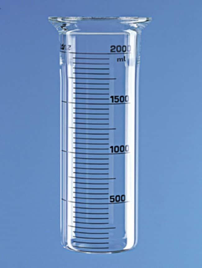 Lenz Laborglasinstrumente™Zylindrisches Reaktionsgefäß mit flachem Boden Includes Laboratory Flange 100; Capacity: 4L Produkte