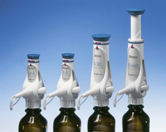 Hirschmann™ Ceramus™ Dispensers: Bottletop Diluters and Dispensers Carboys, Jars, and Liquid Storage