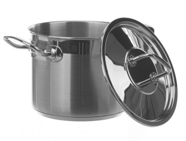 Bochem™Laborgefäß aus Edelstahl mit Deckel: Becher, Flaschen, Zylinder und Glasartikel Produkte