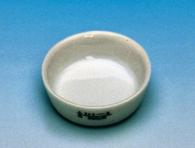 Haldenwanger™Porcelain Incinerating Dishes Outer Diameter: 42mm; Flat Bottom Haldenwanger™Porcelain Incinerating Dishes