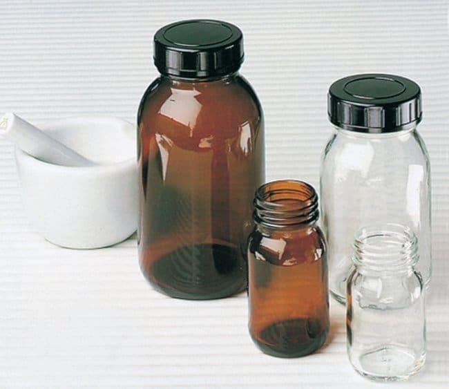 Gerresheimer™Weithalsflaschen aus Klarglas Brown; Capacity: 100mL Gerresheimer™Weithalsflaschen aus Klarglas